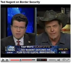 ted nugent on tv