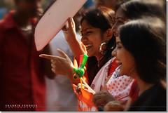 Bangladesh : Spirit of Pohela Boishakh (Shabbir Ferdous) Tags: woman women photographer bangladesh bengali bangladeshi pohelaboishakh april14 noboborsho banglanewyear canoneosrebelxti poilaboishakh shabbirferdous banglacalendar bangladeshgirls banglagirls bdgirls celebrationinbangladesh sigmazoomtelephoto70300mmf456apodgmacro wwwshabbirferdouscom shabbirferdouscom