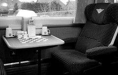 Train whistle blowin' (jonoakley) Tags: york light game london window train canon eos cross seat board central chess first grand trains class kings mug grandcentral teesside firstclass sunderland 125 eaglescliffe 400d
