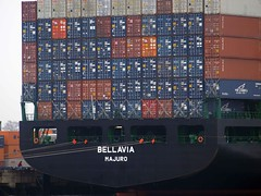 Bellavia at Staten Island (darren bryden) Tags: nyc urban ny elizabeth waterfront nj statenisland containers bellavia majuro arthurkill howlandhook