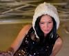 Furry little girl (Luc Deveault) Tags: portrait canada girl beauty look fur nice model women soft quebec montreal femme vert yeux cap québec chapeau annie luc fille douce tuque regard fourrure gauvin noire doux deveault lucdeveault