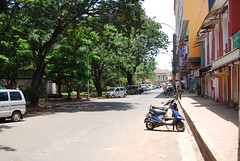 lovely streets of panjim (pallav moitra) Tags: beach fort goa panjim baghator