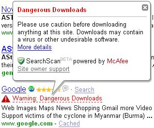 Google-Dangerous-Downloads