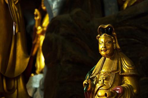 Kuan Yin at Sam Poh Tong.
