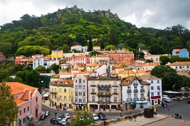 city portugal buildings town cityscape place sintra qualitypixels
