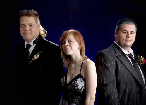 Luke, Faith, and Daniel lookin' tough