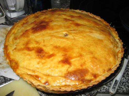 Empanada de Alcachofas