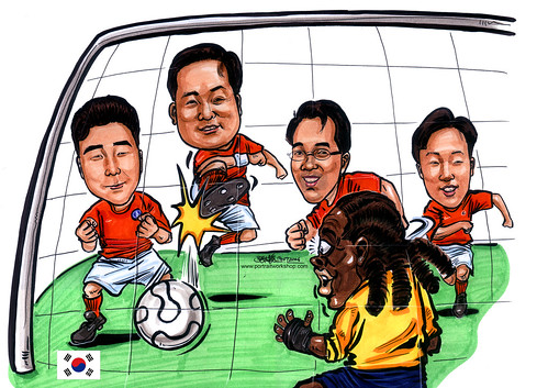 caricatures_Microsoft_Korea_A4