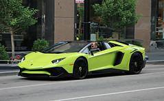 Lamborghini Aventador LP750-4 SV Roadster (SPV Automotive) Tags: lamborghini aventador lp7504 sv roadster convertible exotic sports car supercar green