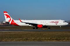 C-FJOU (rouge) (Steelhead 2010) Tags: rouge airbus aircanada a321200 a321 yyz creg cfjou