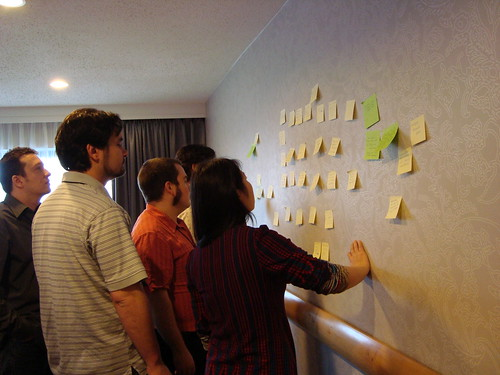 Affinity Diagraming @ FLOSS HCI Workshop at SIGCHI 2010