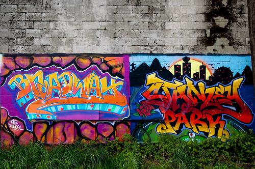 Vancouver Graffiti
