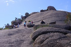 Australia. Girraween, climbing The Pyramids (Tatters:)) Tags: rock nationalpark hiking australia qld girraween thepyramids geophysicalart