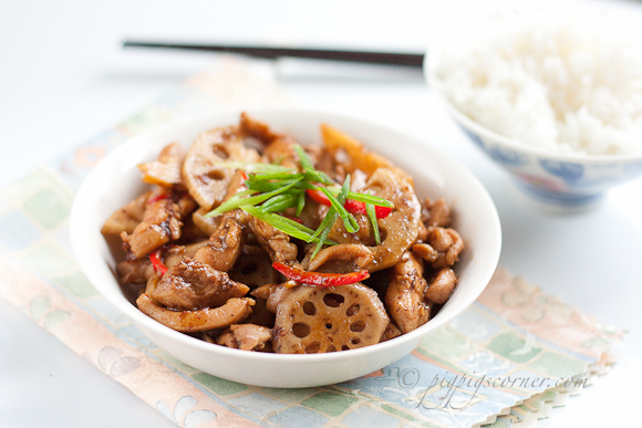 Lotus Root and Chicken Stir-Fry 2