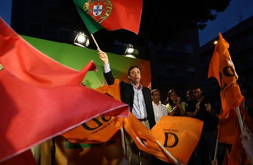 Pedro Passos Coelho em Festa Popular na Brandôa