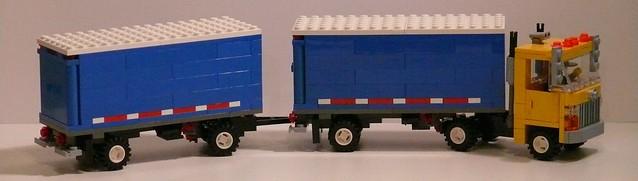 Double Trailer Truck