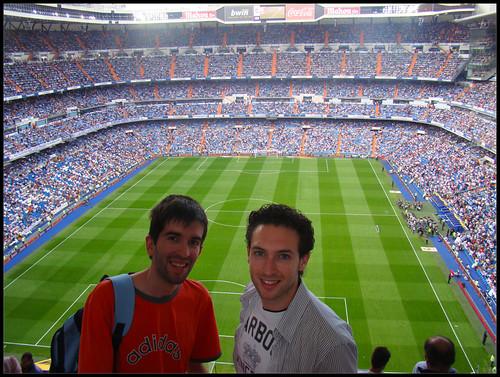 Interior Santiago Bernabéu