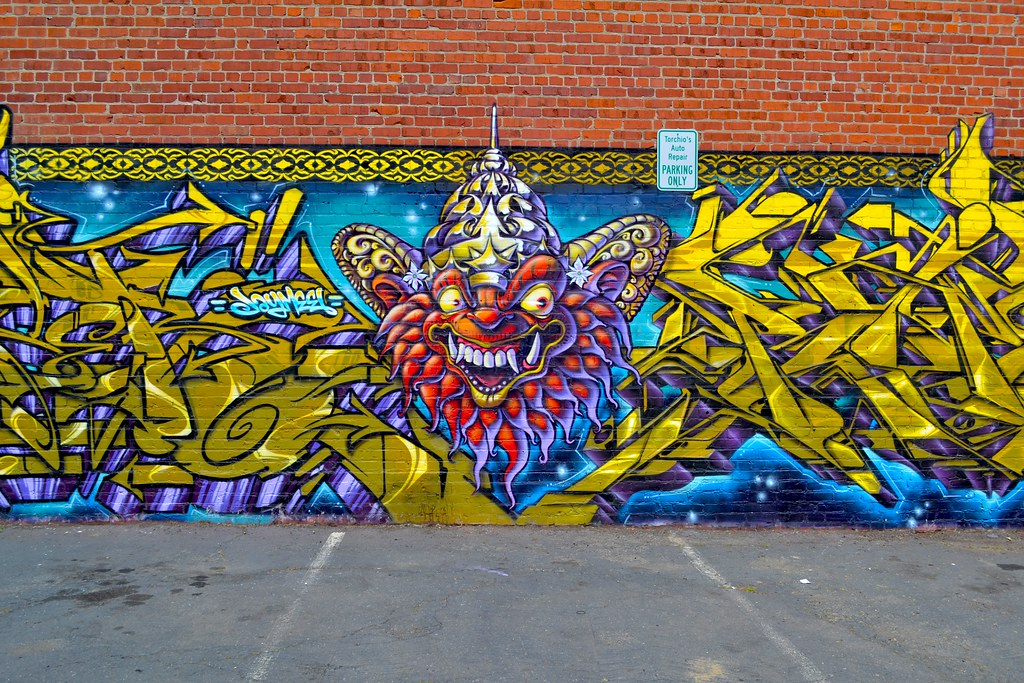 GOSER, Street Art, Oakland, Graffiti