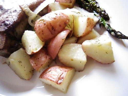Roasted potatoes, take one