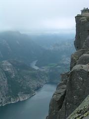 Preikestolen (wimpel) Tags: norway preikestolen lysefjord