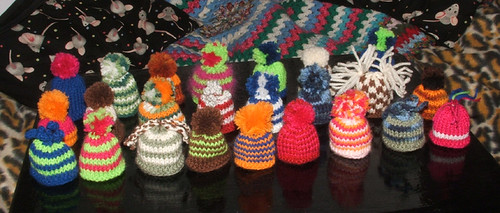 Little hats...