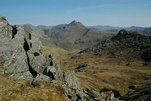 Sgurr na Ciche from Meall Buidhe