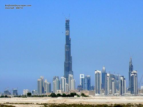 Burj Dubai actual