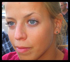 the look (...tito) Tags: woman eye face look eyes blueeyes tito slovensko slovakia ena oi tvr pohad titodaking