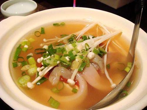 海鮮豆腐辣湯