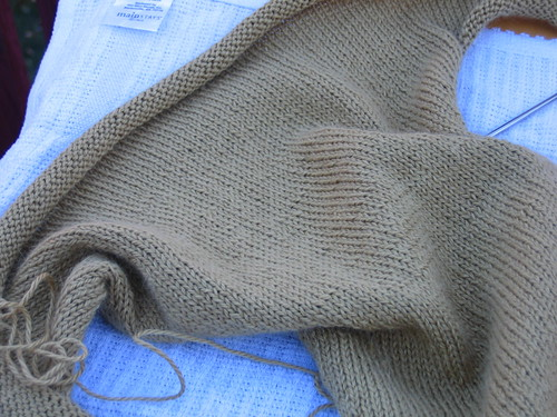 Alpaca Silk Shrug 2