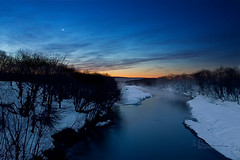 The still beauty of dawn is nature's finest balm. (wildphotons) Tags: blue japan hokkaido kushiro blueribbonwinner impressedbeauty