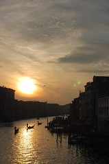 Sunset at the Rialto