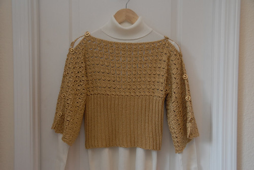 Upside-Down Sweater FO 1