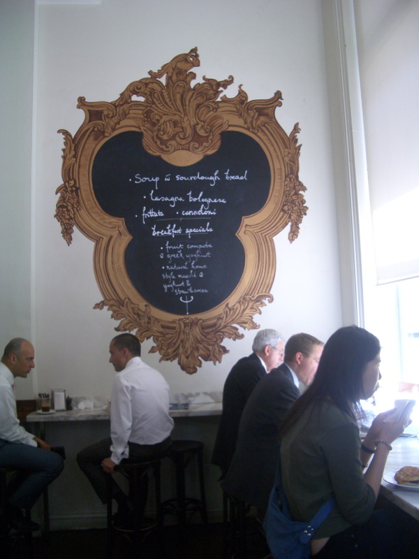 Ortigia menu