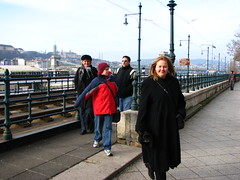 On The Way to the Christmas Market in Budapest