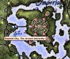 魔法大学地図