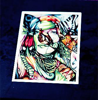 Bobby Flynn's EP Art Work