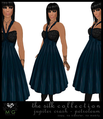 [MG fashion] The Silk Collection - Jupiter Crash (petroleum)