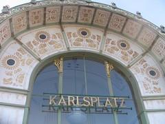 Karlsplatz Pavilions (A.Currell) Tags: vienna art austria europe eu otto nouveau wagner wein jugendstil