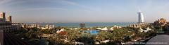 Jumeirah Al Qasr Dubai 12628x3411 (Brian G. Wilson) Tags: ocean sky pool canon eos hotel al dubai widescreen pano uae middleeast panoramic arab sail canonef2470mmf28lusm unitedarabemirates jumeirah 2007 burj alqasr madinat 30d canoneos30d jumeirahalqasr