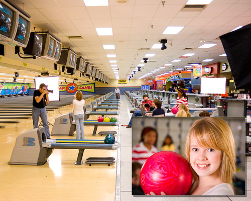 Behind the Scenes - Bowling Alley