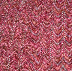 ripple stitch scarf