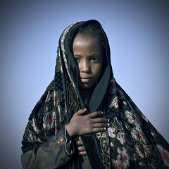 Veiled girl in Asaita, Danakil, Ethiopia (Eric Lafforgue) Tags: africa people face photography day child african muslim islam culture females ethiopia ethnic oneperson tribo frontview hornofafrica individuality ethnology headandshoulders ethiopian afar eastafrica thiopien etiopia ethiopie etiopa colorimage lookingatcamera  danakil etiopija 1people pastoralist ethiopi 89years  africanculture onegirlonly etiopien etipia  etiyopya  aidelkebir   asaita  assayta      kidveil