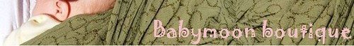 Babymoon Boutique - finished banner