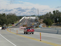 Bridge reconstruction in Biloxi, Mississippi, USA