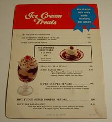 Thrifty menu (back)