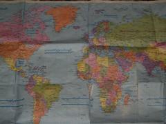 東西冷戦の世界地図