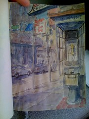 SketchCrawl 17 - SF chinatown