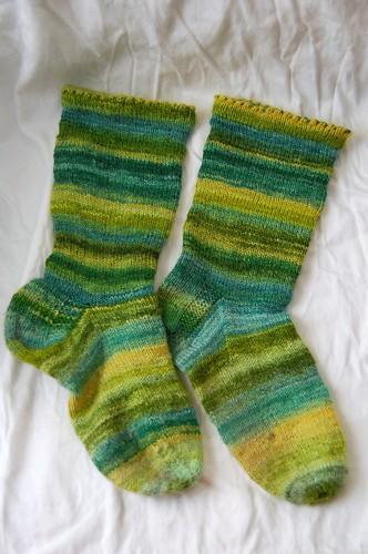 Happy Handspun Socks
