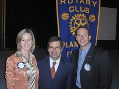 Bilirakis Meets with Members of the Plant City Rotary  Club